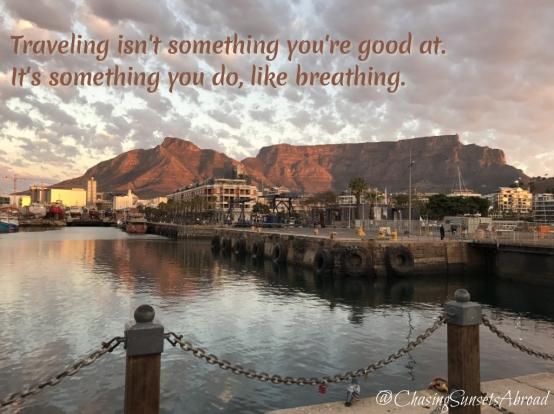 Traveling like Breathing